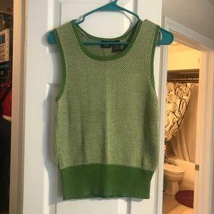 Knit Green Vest